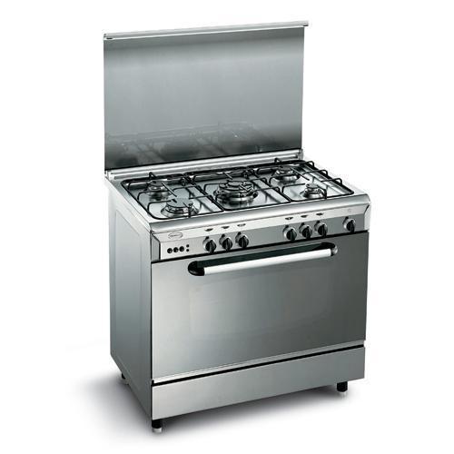 cucina 90x60 inox glem gas e96gir