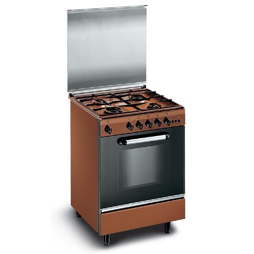 Cucina 60x60 marrone glem gas eb66acl - Cucina a gas glem ...